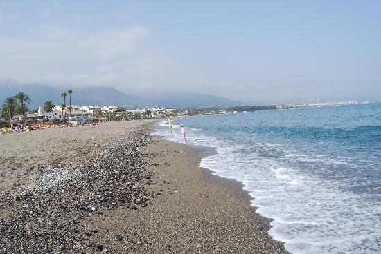 Iberostar Marbella Coral Beach: beach in front of iberostar coral beach marbella