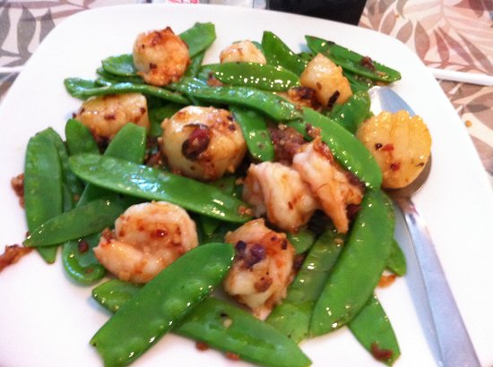 Yummy House: Scallops and Shrimp