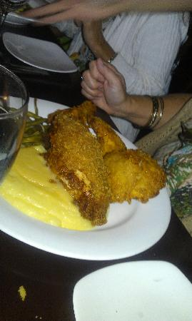 Monarch: The fried chicken dish