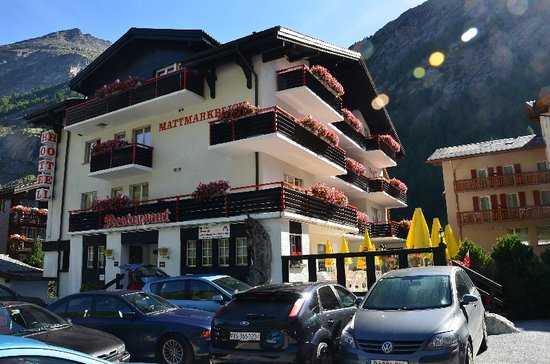 hotel mattmarkblick - straatkant
