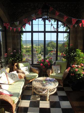 Thurnham Keep Country House B&B: Conservatory