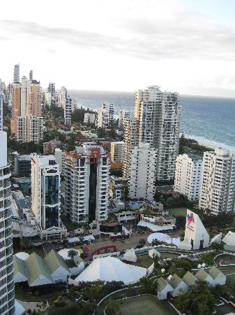 Peppers Broadbeach: View from the 30th floor