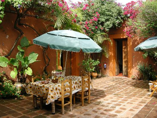 Hostal Casa del Sol Oaxaca: Breakfast is ready