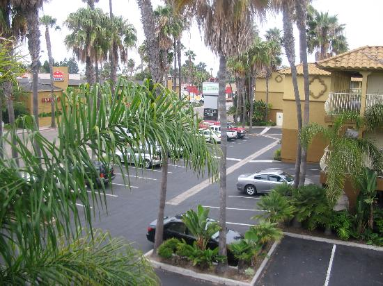 View From Our Room Picture Of Wyndham Garden San Diego Near Seaworld San Diego Tripadvisor