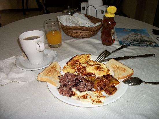 Hotel Internacional Managua : Typical Breakfast