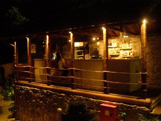 Iliessa: bar at night