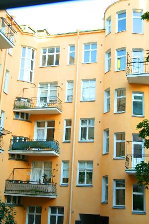 Hellsten Helsinki Parliament : from the bedroom window