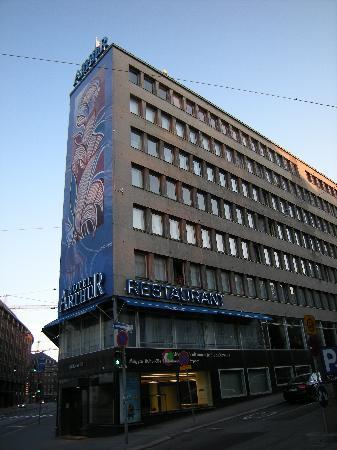 Arthur Hotel: External appearance