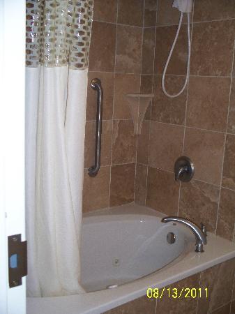 Hampton Inn & Suites Lanett/I-85: Whirlpool Tub