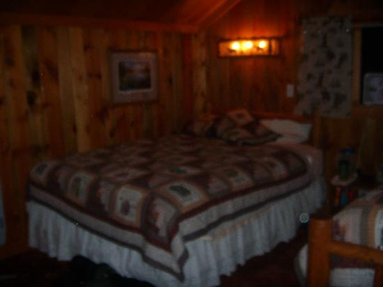 Elephant Head Lodge: inside chisholm cabin