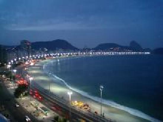 Orla Copacabana Hotel: 屋上からの眺め