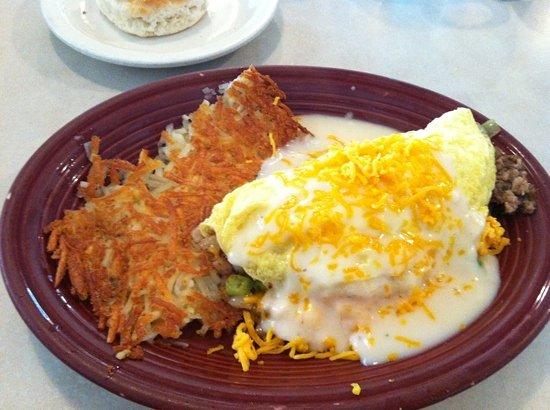 Cafe OLE: garden omelet
