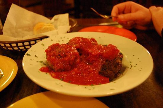 Corleone's Trattoria: delicious meatballs