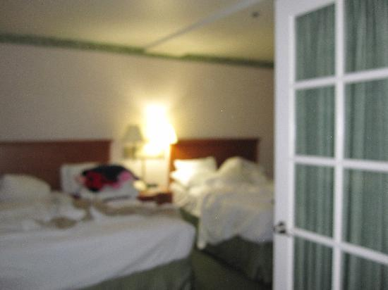 Old Town Inn: french door to bedroom