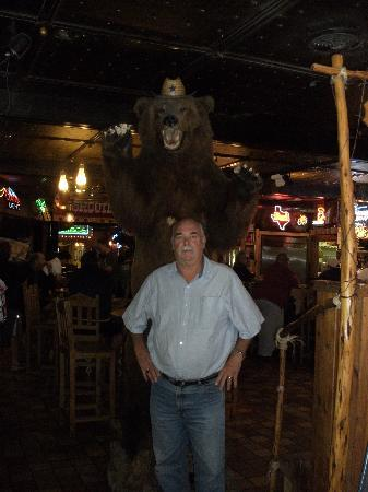 Big Texan Opry: The restaurant is full of interesting sights