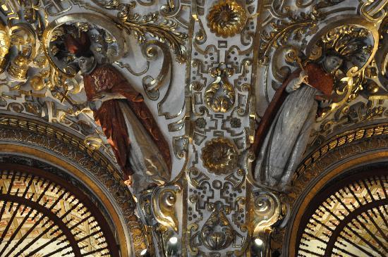 Iglesia de Santo Domingo: soffitto