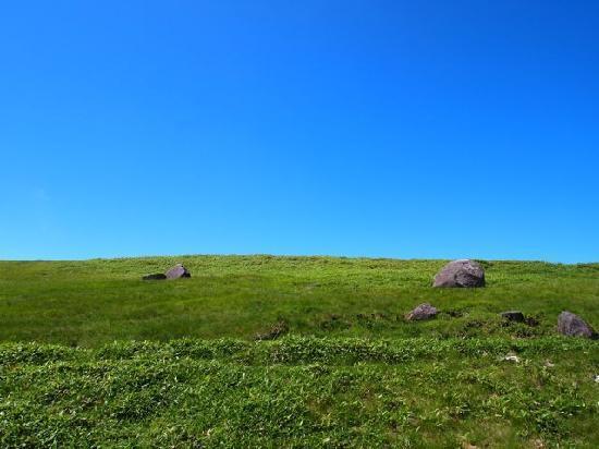 美ヶ原高原 王ヶ頭ホテル, 青空が広がります。