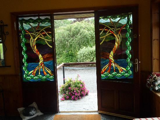 Kathleens Country House: Eingangstür