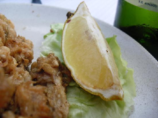 O Peirao: limón pasado