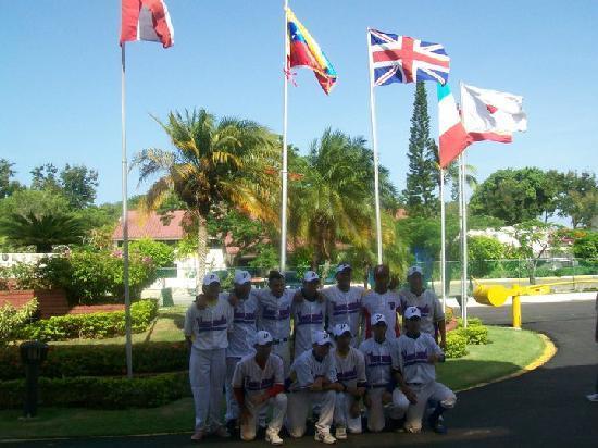 Hotel Beach House Playa Dorada: equipo de venezuela