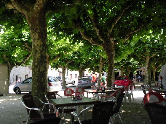 Caramuxos Bar : terraza