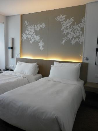 Le Meridien Chiang Mai: Our warming bed