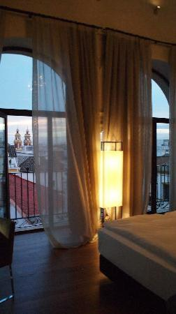 Hotel Palacio de Villapanes: The Torreón Suite with views across rooftops