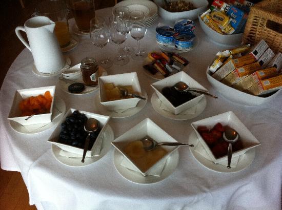 St Kyrans Country House & Restaurant: Breakfast Starters