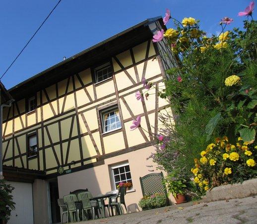 Gerstheim, Francja: Maison à colombage