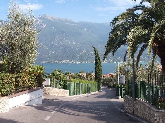 Hotel Royal Village: vue du lac de l'hôtel