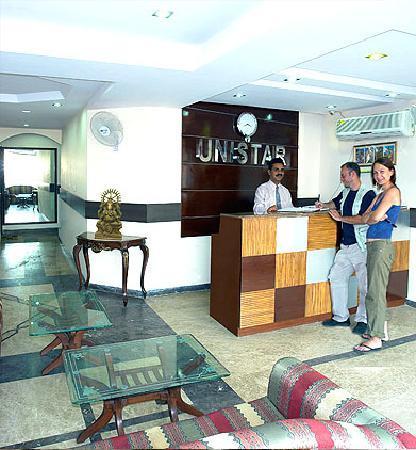 Hotel Unistar: Reciption .Img