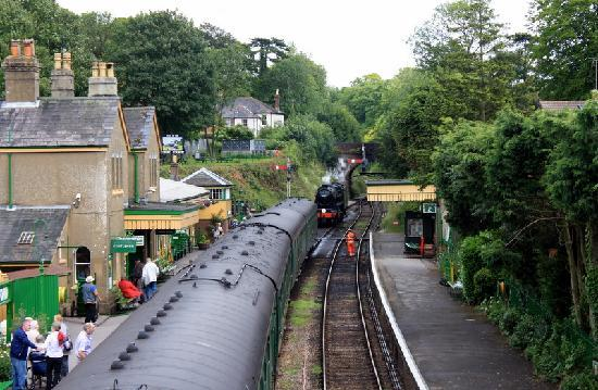 The Mid Hants Railway Watercress Line: Picturesque countryside Alresford station