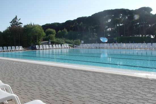 Camping Village Roma: September 2010 pool nice and quiet