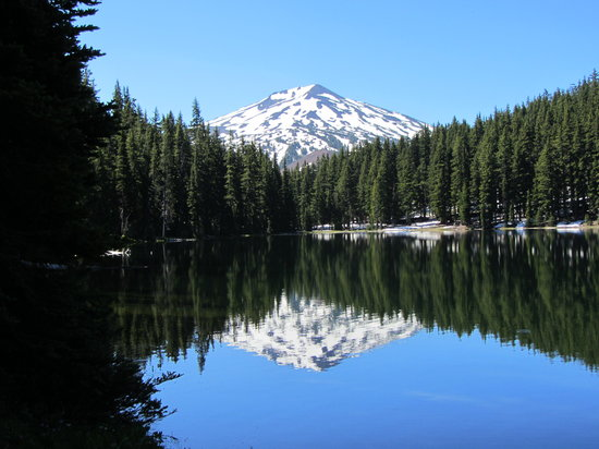 Bend, OR: Mt Bachelor Refection
