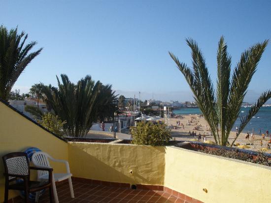 Caleta Playa Apartments: view from balcony