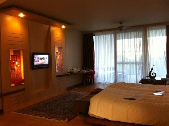 The Kumul: deluxe room very big, loved it