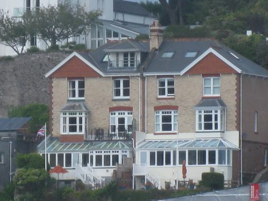 Nonsuch House: The hotel from the river Dart.