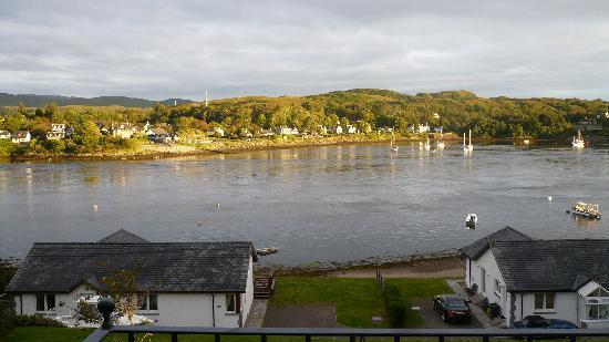 Lochnell Arms Hotel: View from our room