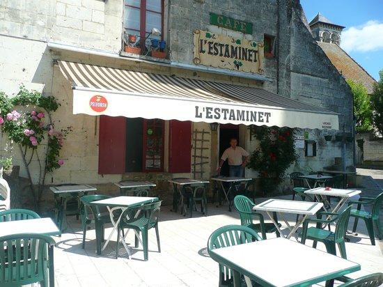 Loches, Frankreich: Terrasse de L'estaminet