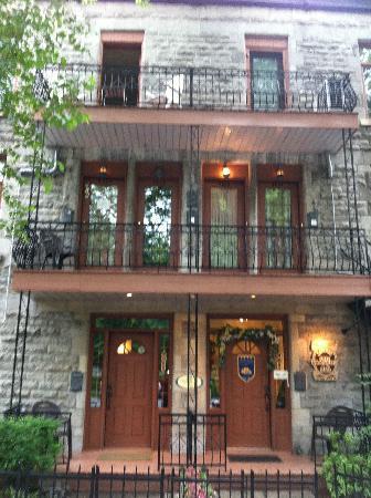Accueil Chez Francois B&B: entrée