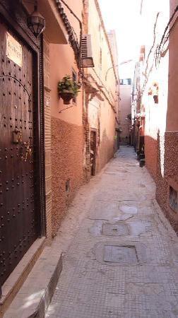 Riad Itrane : entree