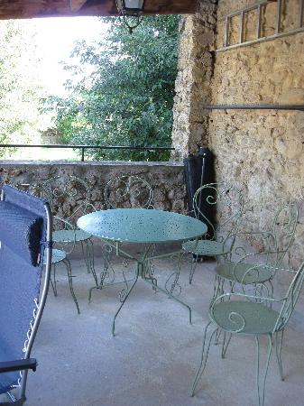 Mon Moulin : Il patio