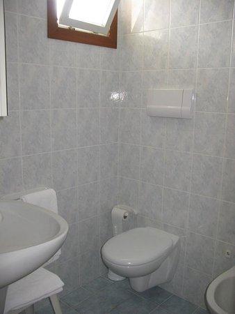 Hotel Mirafiori: bagno