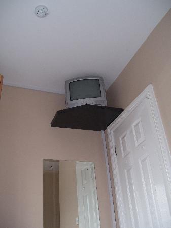 Abbey Lodge Guesthouse: La tv