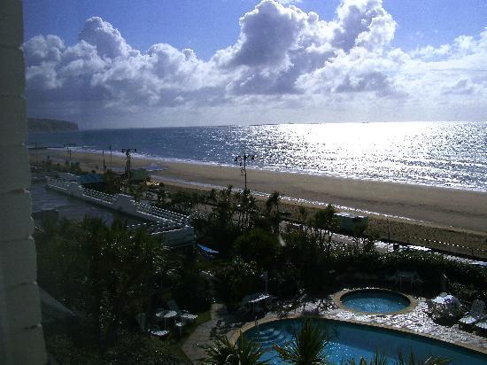 The Ocean Hotel: Bedroom View
