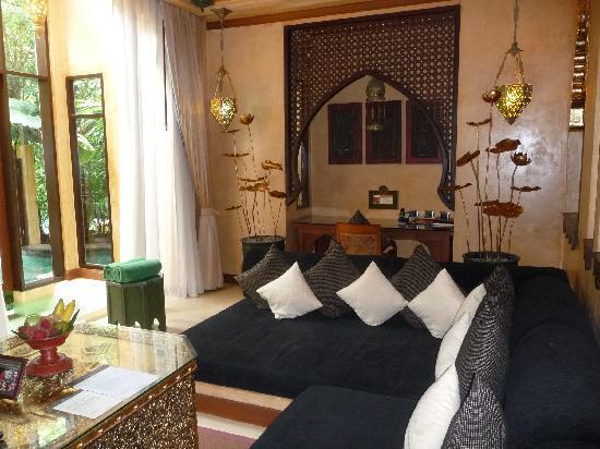 The Baray Villa : Downstairs Living Area of theBaray Villa