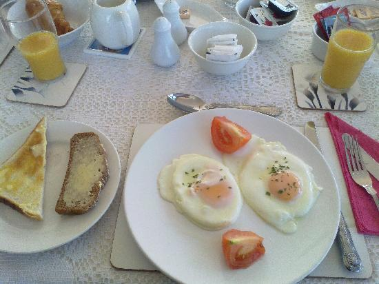 Clunelly House : my breakfast