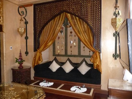 The Baray Villa : Part of Upstairs Bedroom Baray Villa