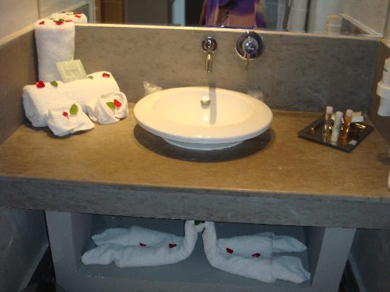 Sirayane Boutique Hotel & Spa : Sink area
