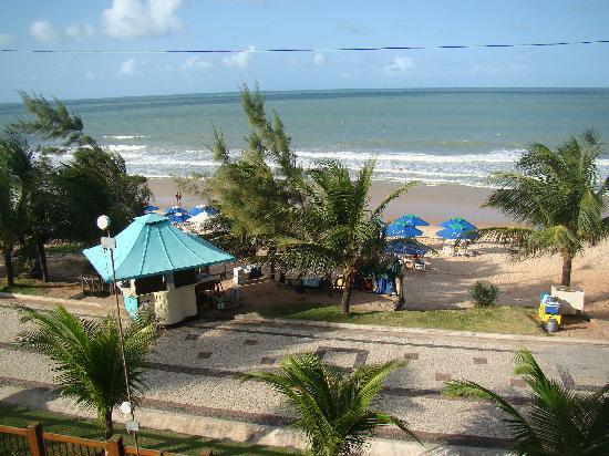 Araca Praia Flat Beira Mar: view from our balcony